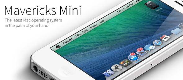 Mavericks Mini theme iPhone