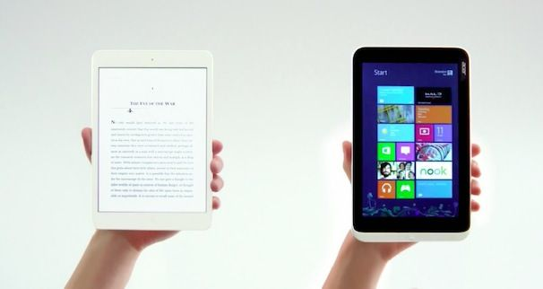 антиреклама Microsoft против iPad mini