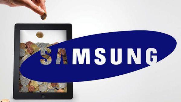 Samsung display Apple Money