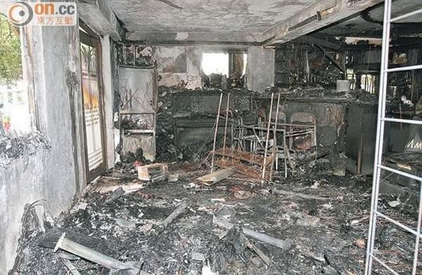 Galaxy S4 вызвал пожар