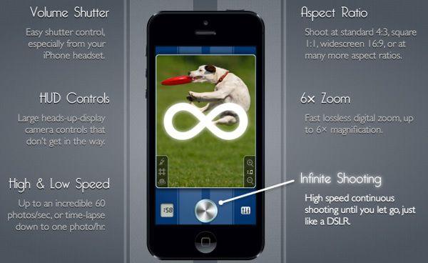 SnappyCam позволит iPhone снимать 20 кадров в секунду