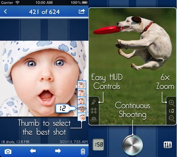 SnappyCam Pro для iPhone