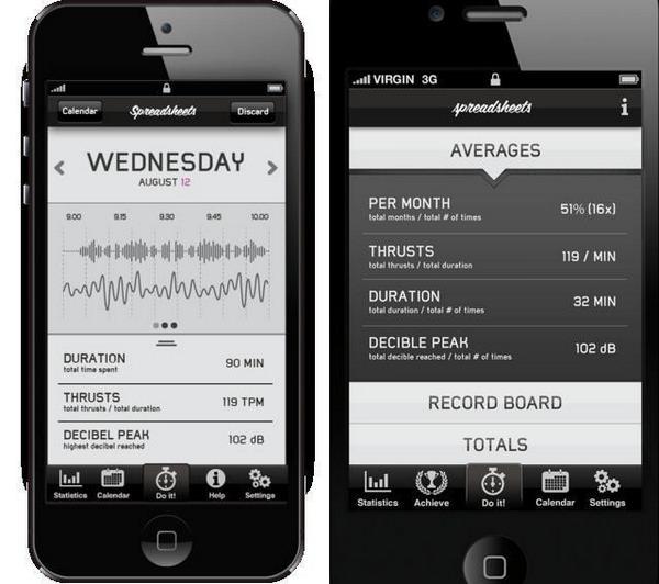Приложение Spreadsheets для iPhone