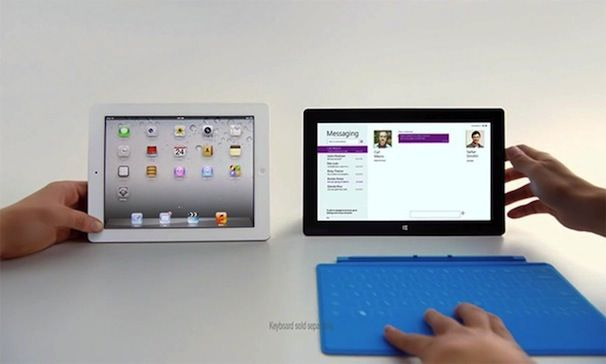 Surface RT против ipad