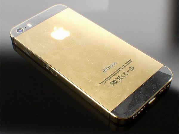 Золотой iPhone 5S со 128 Гб памяти