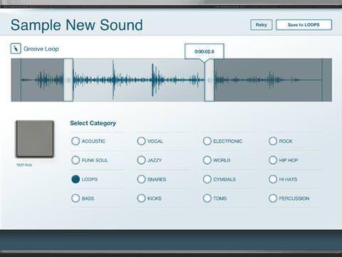 Akai iMPC для iPhone и ipad