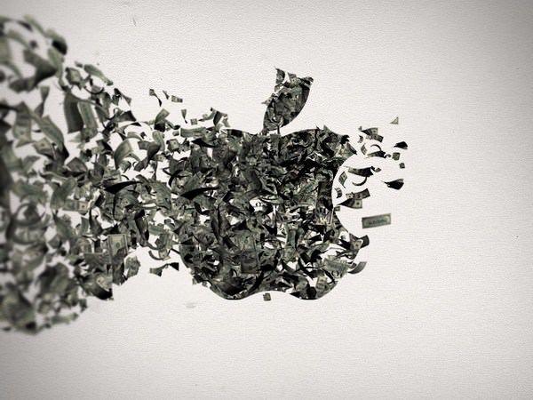 Акции Apple перевалили за $500