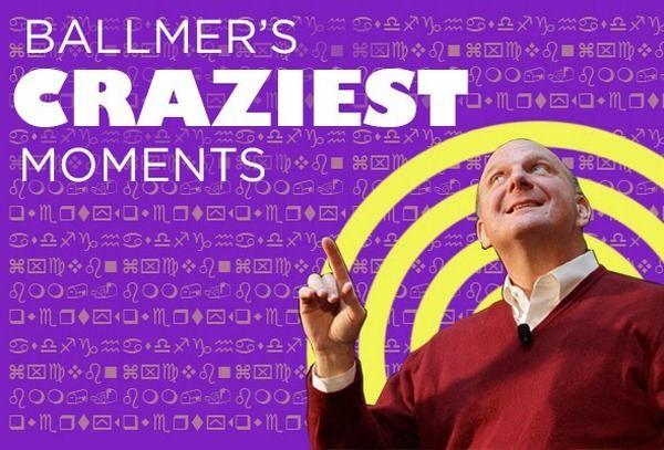 Стив Балмер в Microsoft: подборка самых неадекватных моментов