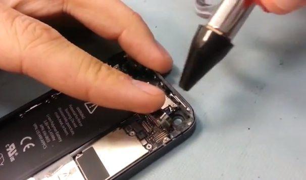 как очистить камеру iPhone 5