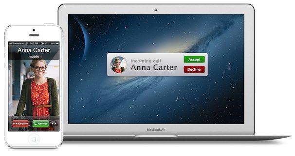 Как звонить на Mac