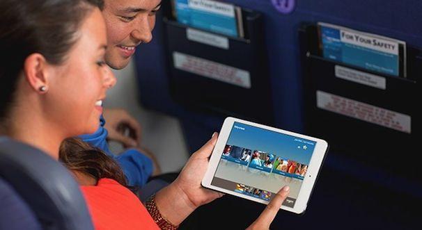 iPad mini в самолетах
