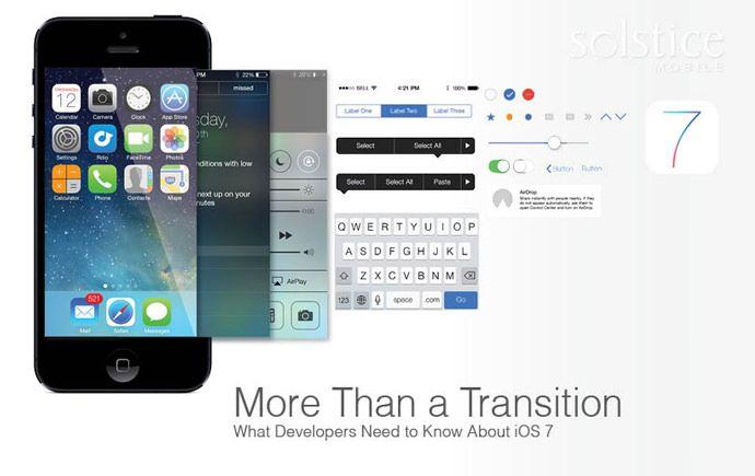 Создание приложений в стиле iOS 7