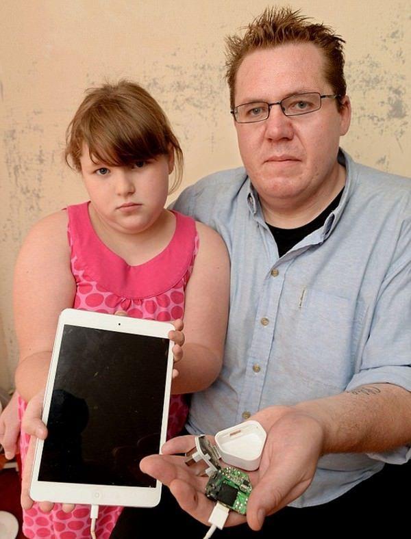 Зарядка для iPad mini снова наносит удар