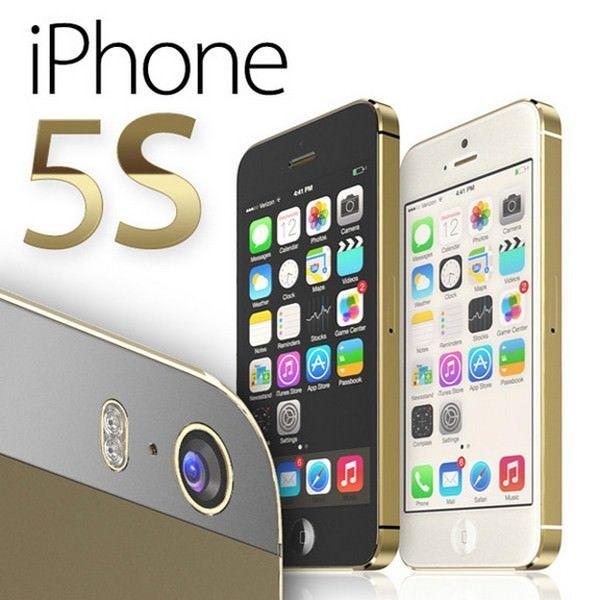 Концепты золотых iPhone 5S и iPad 5 от Мартина Хайека