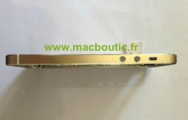 золотой iPhone 5S
