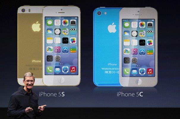 Apple keynote iphone 5S