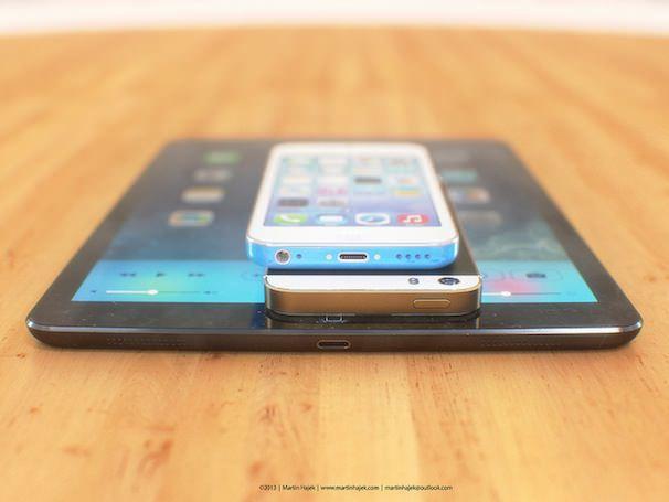 iPhone 5S, iPhone 5C и iPad 5
