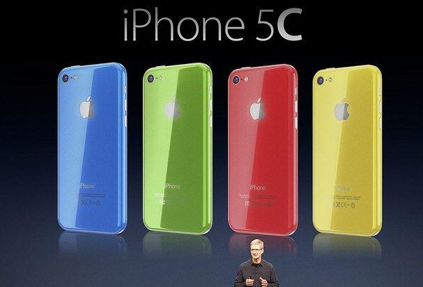 Apple keynote iphone 5C