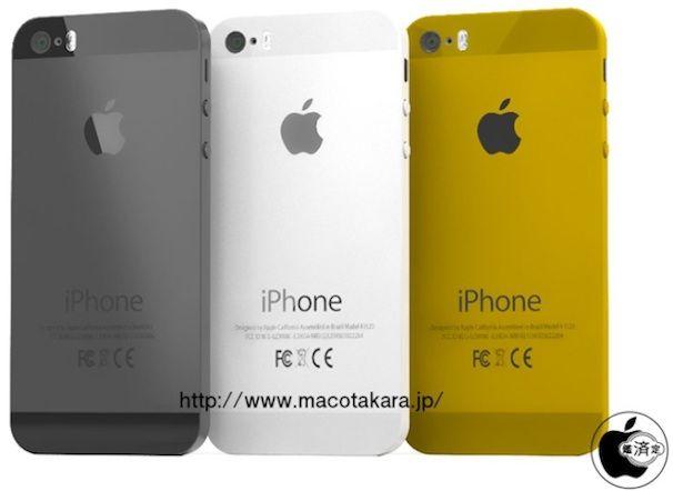 iPhone 5S золотой