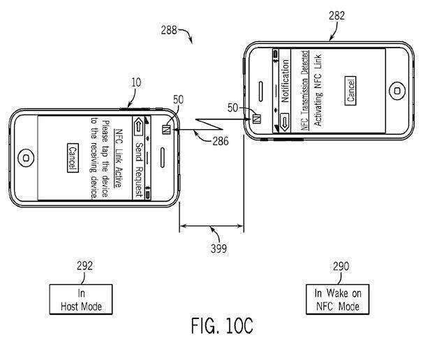 передача файлов через NFC в iPhone