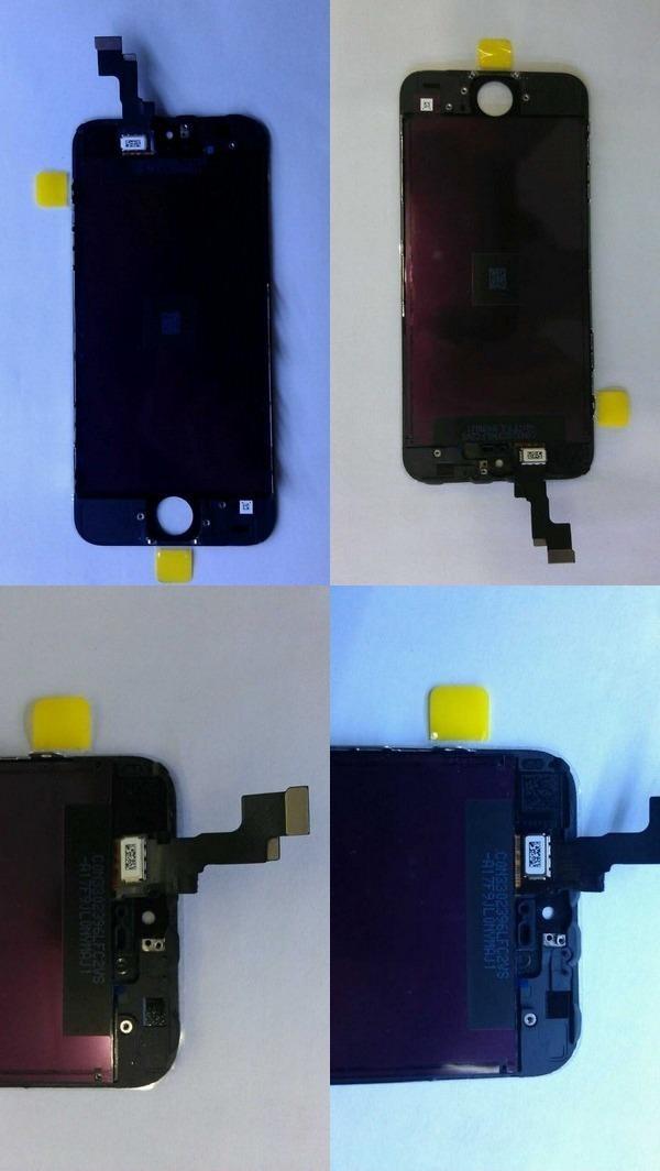 iPhone 5S и iPhone 5C крупным планом