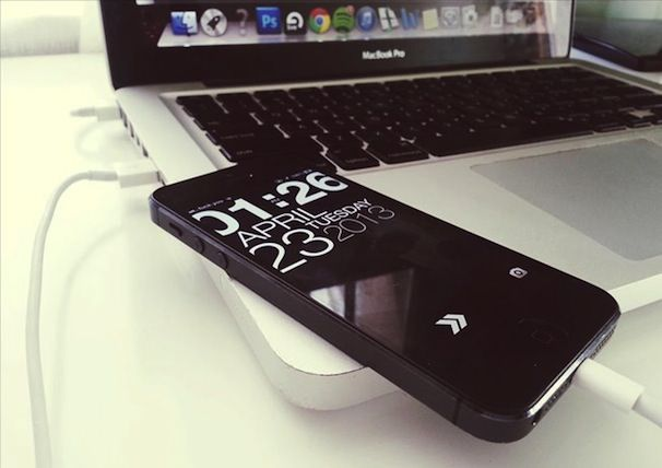 macbook iphone 5