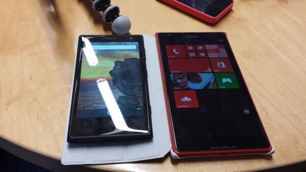 Фотография фаблета Nokia Lumia 1520 просочились в интернет