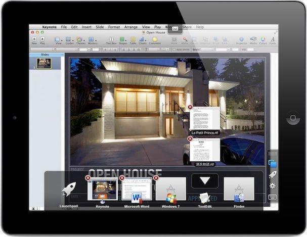 управление Windows или Mac компьютером с экрана iPad