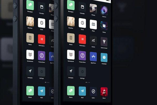 редезайн iOS 7 концепт