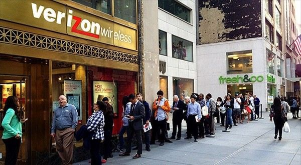 Verizon подтверждает дату начала продаж iPhone 5S и 5С