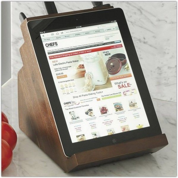 Кухонная подставка для iPad и ножей Victorinox