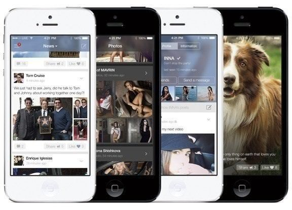 приложение вконтакте для iPhone и iPad