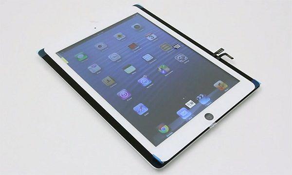 Видео предполагаемого корпуса iPad 5-го поколения в сравнении с нынешним iPad 4