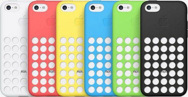 Пластик корпусов iPhone 5C