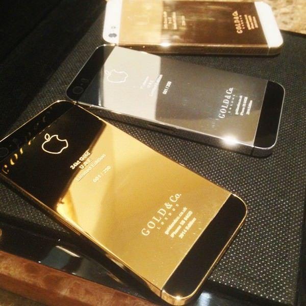 iPhone 5S из 24-каратного золота