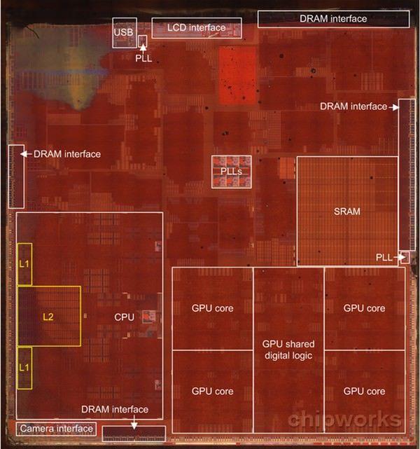 Процессор A7 изнутри