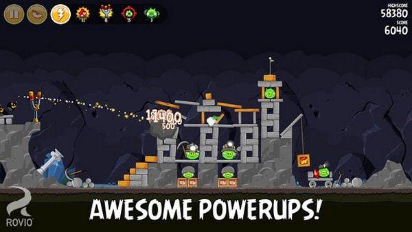Angry Birds получила 15 новых уровней