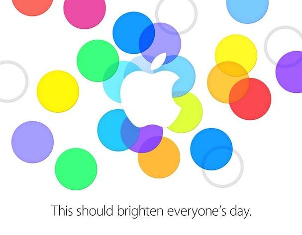 приглашение Apple на презентацию iPhone 5S