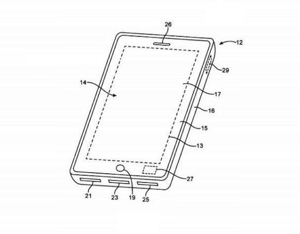 отпечаток пальца в iPhone 5S