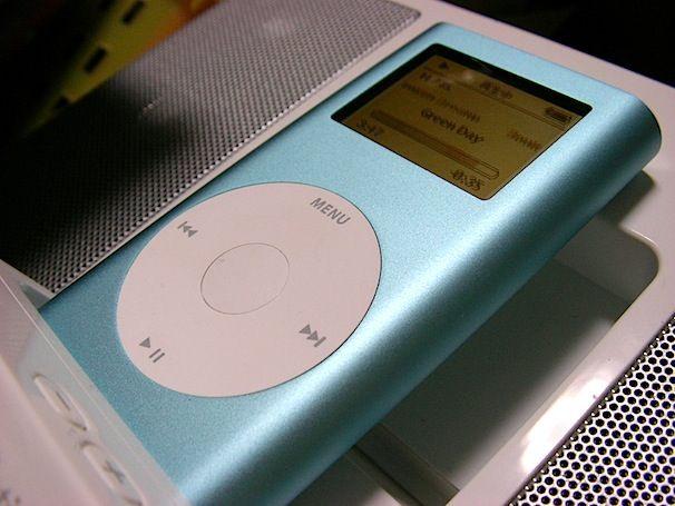 Apple iPod mini blue