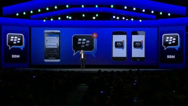 BlackBerry BBM для iOS