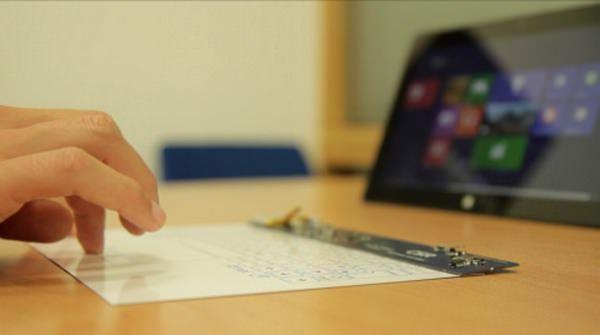 Беспроводная клавиатура для планшетов – самая тонкая в мире