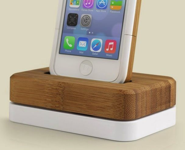 Groove Dock деревеянно-металлическая док-станция для iphone