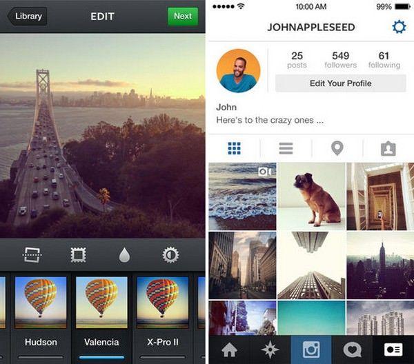 Instagram для iPhone, iPad и iPod Touch