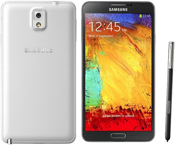 Сравнение Samsung Galaxy Note III и iPhone 5