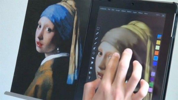 Художник Сейку Ямаоки и его шедевры, созданные на iPad и iPhone (видео)
