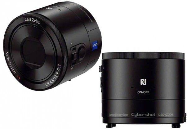 Sony Объективы Sony Smart Shot QX10 и QX100