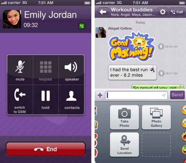 Скачать Viber для iOS 7