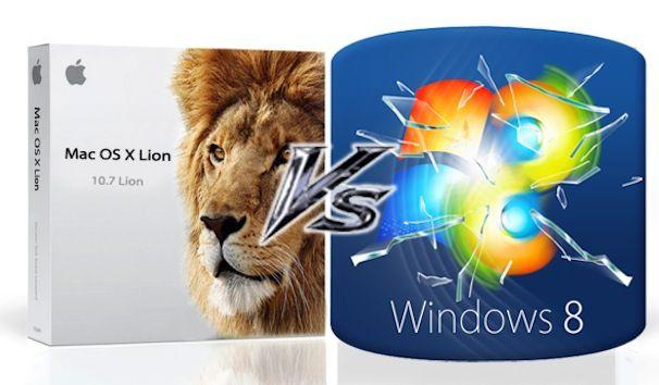 windows 8 против os x