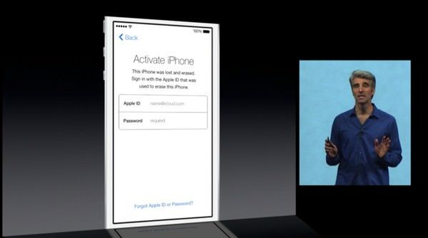 Блокировка устройства в iOS 7